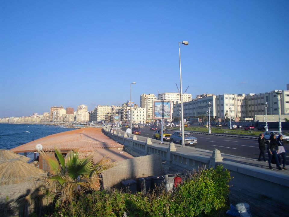 Vue de la Corniche à Shatby © A. Naoumane