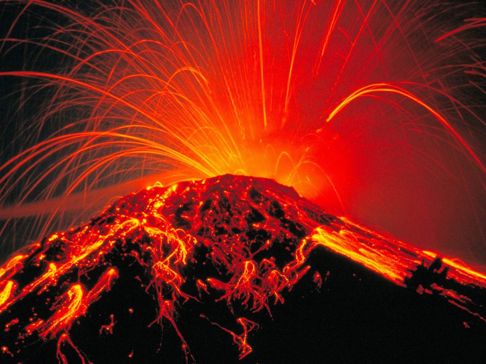 Volcan en éruption (c)gentside.com/