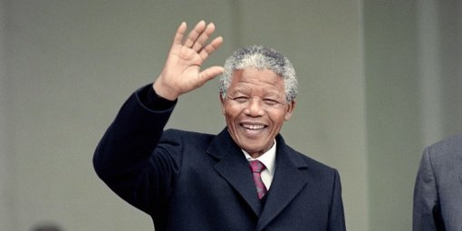 Nelson Mandela - Photo MICHEL CLEMENT