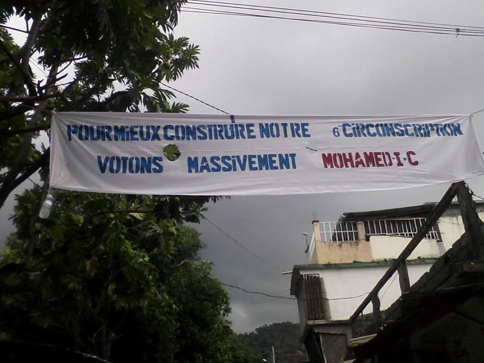 Pancarte à Mutsamudu